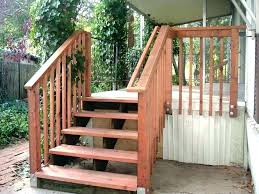 Wooden Stairs Design Outdoor Outdoor Wooden Stairs Copypatekwatches