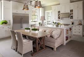 kitchen bench ideas how a kitchen table with bench seating can totally complete your home