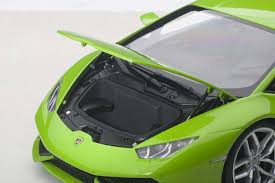 grey lamborghini huracan highly detailed autoart die cast model metalic green lamborghini