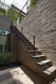 outside stairs design massive three level family residence in south korea h house home