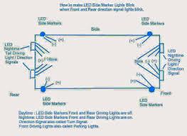 Led Blinking Circuit Diagram Customizing Car Side Marker Lights To Flashing Side Markers