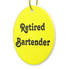 retired bartender gifts on zazzle