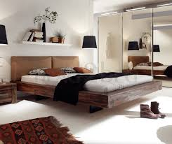 contemporary designer beds hasena vilo bloc dorma solid acacia