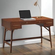 coaster fine furniture writing desk coaster mid century modern writing desk with 3 drawers coaster