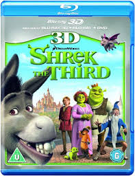 shrek 3d 3d blu ray 2d blu ray dvd blu ray zavvi