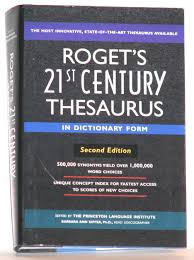 Thesaurus Beautiful by Roget U0027s 21st Century Thesaurus In Dictionary Form The Princeton