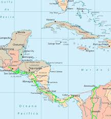 Map Of South And Central America Map
