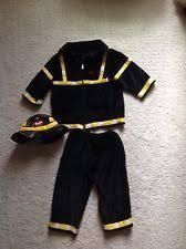 Fireman Halloween Costume Toddler Fireman Costume Ebay