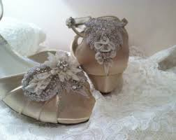 silver wedding shoes wedges wedding shoes wedding accessories by parisxox on etsy