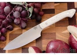 bark river kitchen knives river knives petty z cpm 154 white g 10