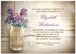 rustic bridal shower invitations jars shower invitations 2013 popular wedding trends