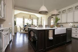 kitchen island with sink and dishwasher and seating photo page hgtv
