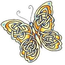celtic butterfly tattoos and tatting