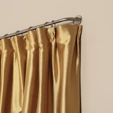 accessories curtain rods wrap around throughout artistic bronze
