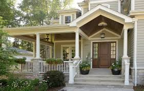 front door porches designs entry traditional with hanging light