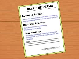 Letter Applying For Business Permit how to get a resale number 8 steps with pictures wikihow