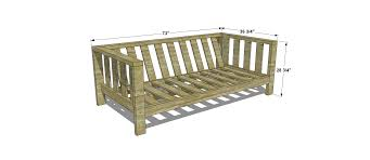 Outdoor Furniture Plans by Dimensions For Free Diy Furniture Plans How To Build An Outdoor