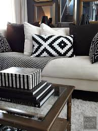 Styling Room Focal Point Styling Thrifted Chic Black U0026 White Living Room On