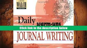 audiobook daily warm ups journal writing walch publishing for