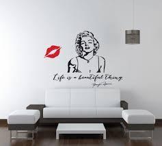 28 marilyn monroe wall sticker vinyl wall art stickers by marilyn monroe wall sticker vinyl wall art stickers by life is a beautiful marilyn monroe quote