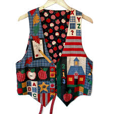 halloween sweaters back to teacher diy tacky ugly fabric vest w leaves the