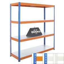 Heavy Duty Shelves by Speedy 1 Super Heavy Duty Shelving 4 Level Galvanised Steel
