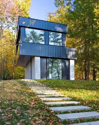 Vermont Home Design Ideas by Elegant Contemporary Home Cantilever Lake House Keribrownhomes