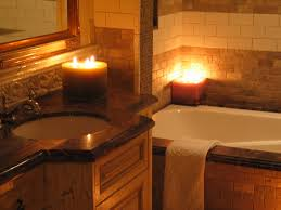 romantic bathroom candles romantic bath rose peddles candles