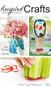 recycled crafts for kids craft reuse and upcycle