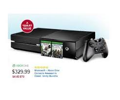 best black friday deals on xbox one console microsoft xbox one console assassin u0027s creed unity bundle deal