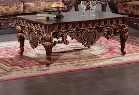 Stows Furniture Okc by Homey Design Hd 1809 Traditional Coffee Table Coffee And Traditional