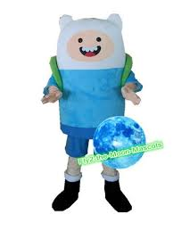 Finn Adventure Halloween Costume Vivid Finn Mascot Costume Adventure Finn Jake Mascot