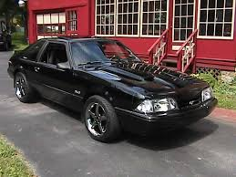 Black Fox Body Mustang B7m7z7 1990 Ford Mustang Specs Photos Modification Info At Cardomain