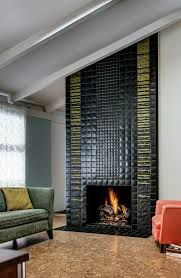 Fireplace Tile Design Ideas by 101 Best Fireplaces By Motawi Images On Pinterest Fireplaces
