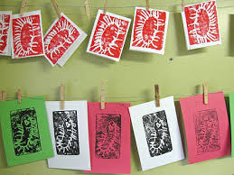 how to do styrofoam printing a printmaking activity for