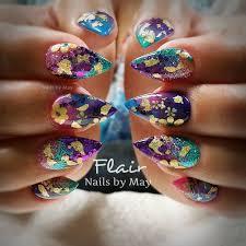 best 25 foil nail art ideas on pinterest foil nails foil nail
