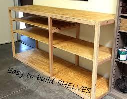 diy shop or garage shelf for storage and organization kreg pocket