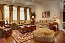 Country Living Curtains Country Living Room Lighting Ideas With Gold Curtains And