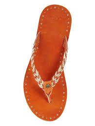 ugg sale sandals highest quality cheap sale ugg navie toe post orange sandals