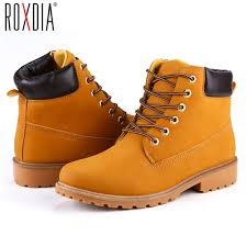 shoes s boots roxdia faux suede leather boots autumn and winter