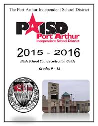 2015 2016 high course selection guide by paisd webmaster