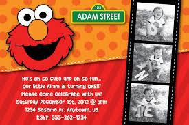 sesame street birthday party invitations dolanpedia invitations