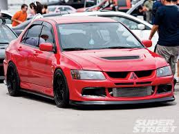 mitsubishi evo red mitsubishi lancer evolution review and photos