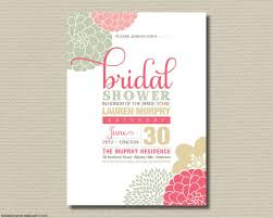 wedding shower registry designs free printable wording for bridal shower invitations no