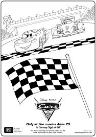 cars 2 activity sheets