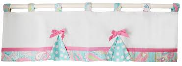Pink Nursery Curtains Pink And Aqua Nursery Curtain Valance Pink Nursery Valance