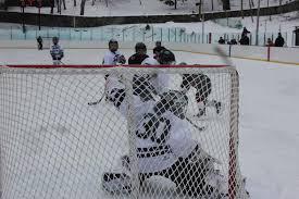 old fashioned outdoor hockey u2026 randolph hockey team wins at
