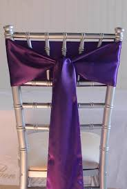 satin chair sashes purple satin chair sashes 6x106