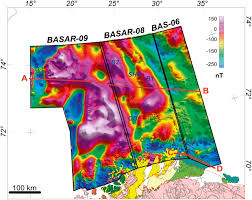 Barents Sea Map Late Palaeozoic Architecture And Evolution Of The Southwestern