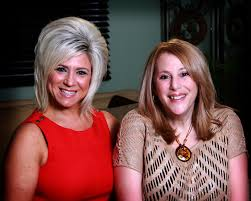 what hair spray does teresa caputo use girlfriends book club a spooky story my interview with theresa